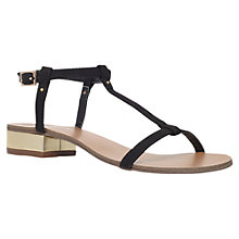 Buy Carvela Bounty Block Heel Sandals, Black Online at johnlewis.com