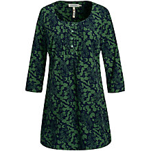 Buy Seasalt Rissick Tunic Dress, Ivy Berry Fern Online at johnlewis.com