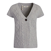 Buy Seasalt Saddler Cardigan, Aran Online at johnlewis.com
