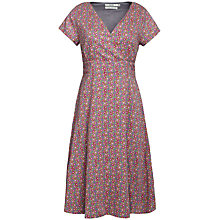 Buy Seasalt Esmeralda Dress, Daisy Trail Steel Online at johnlewis.com