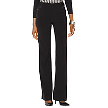 Buy Lauren Ralph Lauren Jacie Flared Trousers, Black Online at johnlewis.com