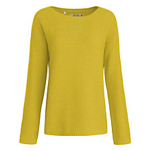 Buy Seasalt Fruity Jumper, Mustard Online at johnlewis.com