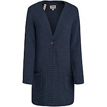 Buy Seasalt Grapevine Cardigan, Squid Ink Online at johnlewis.com