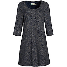 Buy Seasalt Valentine Dress, Stormy Seas Squid Ink Online at johnlewis.com