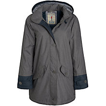 Buy Seasalt RAIN® collection Boat Coat, Metal Online at johnlewis.com