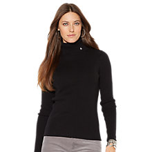 Buy Lauren Ralph Lauren Jillian Turtleneck, Black Online at johnlewis.com