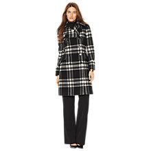 Buy Lauren Ralph Lauren Check Coat, Multi Online at johnlewis.com