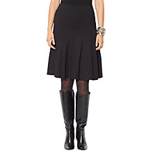Buy Lauren Ralph Lauren Namirya Full Skirt, Black Online at johnlewis.com