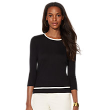 Buy Lauren Ralph Lauren Chrisanthi Top Online at johnlewis.com