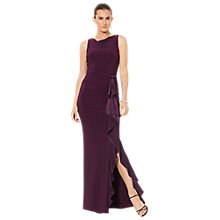 Buy Lauren Ralph Lauren Truly Sleeveless Dress, Raisin Online at johnlewis.com