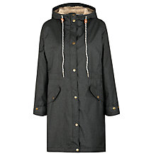 Buy Seasalt RAIN® collection Plant Hunter Coat, Coal Online at johnlewis.com