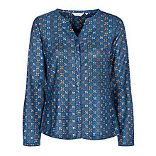 Buy Sesasalt Moorstone Shirt, Wax Geo Squid Ink Online at johnlewis.com
