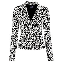 Buy Armani Jeans Jacquard Jacket,  Black/White Online at johnlewis.com