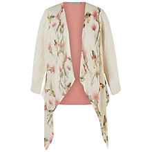 Buy Chesca Multi Humming Bird Print Cover Up, Coral Online at johnlewis.com
