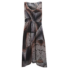 Buy Mint Velvet Erica Print Asymmetric Dress, Multi Online at johnlewis.com