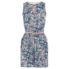 Buy Oasis Botanical Budlia Playsuit, Multi/Blue Online at johnlewis.com