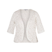 Buy Chesca Cornelli Embroidered Lace Bolero Online at johnlewis.com