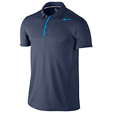 Buy Nike Waffle Polo Tennis Shirt, Navy Online at johnlewis.com