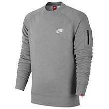 Buy Nike Fleece Crew Sweatshirt Online at johnlewis.com