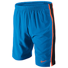 "Buy Nike Boy's 7"" Tempo Running Shorts, Blue/Black Online at johnlewis.com"