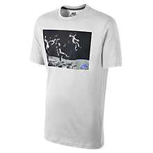 Buy Nike Moon Race T-Shirt, White Online at johnlewis.com