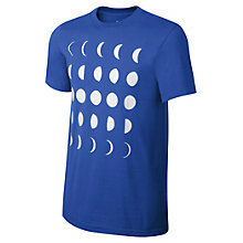 Buy Nike Lunar Graphic Crew Neck T-Shirt Online at johnlewis.com