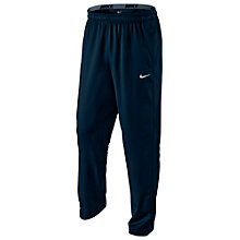 Buy Nike Team Woven Training Trousers, Dark Obsidian Online at johnlewis.com