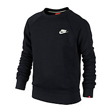 Buy Nike Boys' Franchise Brushed Fleece Top Online at johnlewis.com