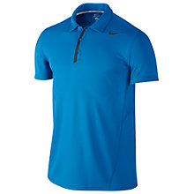Buy Nike Waffle Polo Tennis Shirt, Photo Blue Online at johnlewis.com