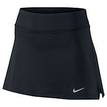 Buy Nike Straight Tennis Skirt, Black Online at johnlewis.com