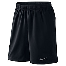 Buy Nike Tennis Woven Shorts, Black Online at johnlewis.com