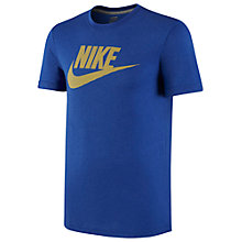 Buy Nike Futura Short Sleeve Crew Neck T-Shirt Online at johnlewis.com