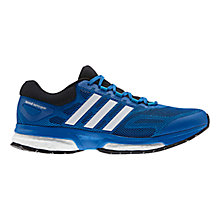 Buy Adidas Response Boost Men's Running Shoes, Blue/Black Online at johnlewis.com