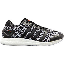 Buy Adidas Rocket Boost Battle Pack Men's Shoes, White/Black Online at johnlewis.com