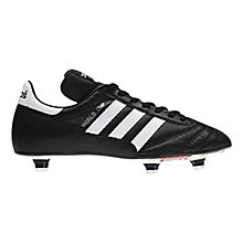 Buy Adidas World Cup Men's Football Boots, Black/White Online at johnlewis.com