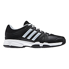 Buy Adidas Barracks F10 Men's Cross Trainers, Black/Grey Online at johnlewis.com