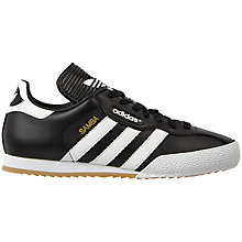 Buy Adidas Samba Super Men's Football Trainers, Black/White Online at johnlewis.com