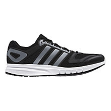 Buy Adidas Galaxy Men's Running Shoes, Black Online at johnlewis.com