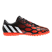 Buy Adidas Predator Absolado Instinct TF Men's Football Boots, Black/White Online at johnlewis.com