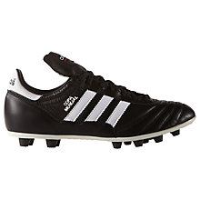 Buy Adidas Copa Mundial Samba Men's Football Boots, Black/White Online at johnlewis.com