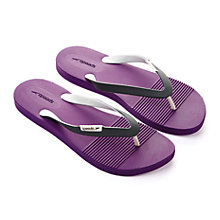 Buy Speedo Saturate II Thong Sandals, Purple/Grey Online at johnlewis.com
