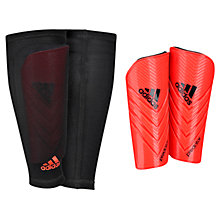 Buy Adidas Predator Pro Lite Shin Guard, Infrared/Black Online at johnlewis.com