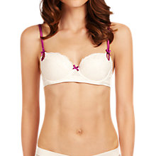 Buy Elle Macpherson Intimates Exotic Plume Contour Bra, Dew / Hollyhock Online at johnlewis.com