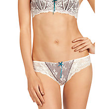 Buy Elle Macpherson Intimates Dentelle Briefs, Dew / Potent Purple Online at johnlewis.com