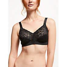 Buy Triumph Doreen Delicate Full Cup Bra, Black Online at johnlewis.com