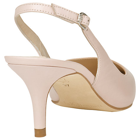 Buy L.K. Bennett Florita Leather Court Shoes, Pale Pink Online at johnlewis.com