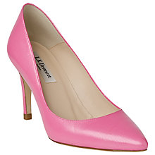 Buy L.K. Bennett Floret Leather Court Shoes Online at johnlewis.com
