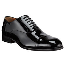 Buy John Lewis Oxford Patent Leather Shoes, Black Online at johnlewis.com
