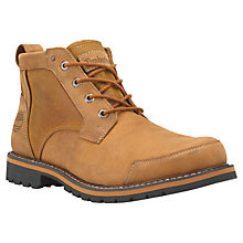 Buy Timberland Chestnut Ridge Waterproof Chukka Boots, Red Brown Online at johnlewis.com