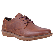 Buy Timberland Earthkeepers Country Travel Leather Oxford Shoes, Red Brown Online at johnlewis.com